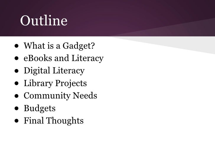 Benefits of Gadgets in Public Libraries Slide 2