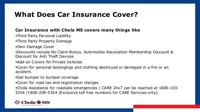 Does Car Insurance Cover Accidents On Private Property