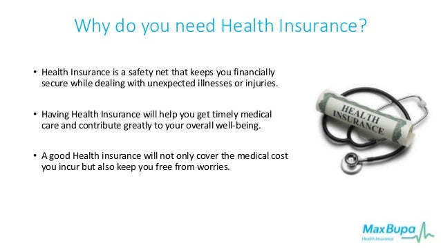 Benefits of Getting Health Insurance with Max Bupa