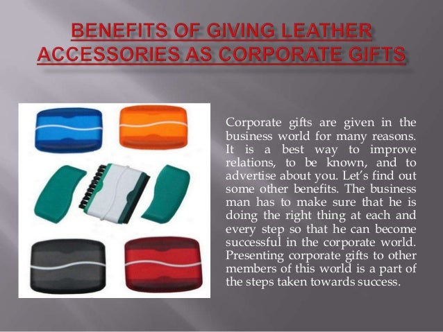 Corporate gifts are given in thebusiness world for many reasons.It is a best way to improverelations, to be known, and toa...