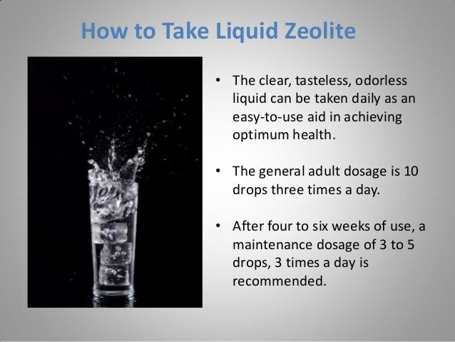 zeolite natural heavy metal detoxifier pdf