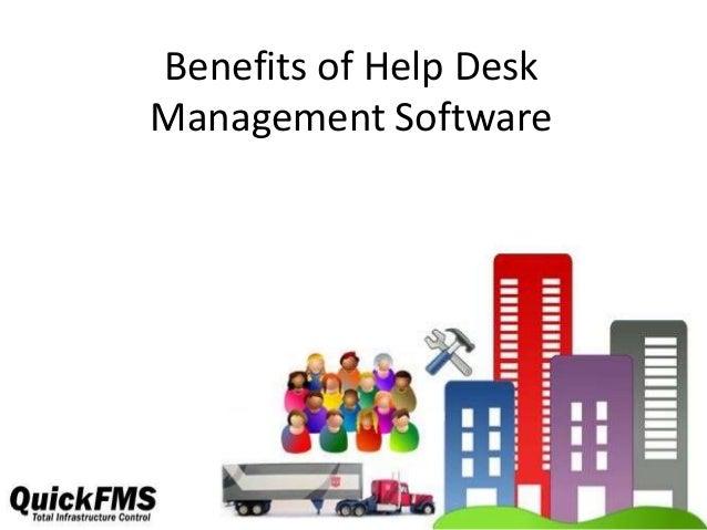 Benefits of Help Desk Management Software