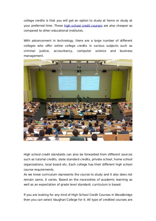 Online Courses Online Courses High School Credit