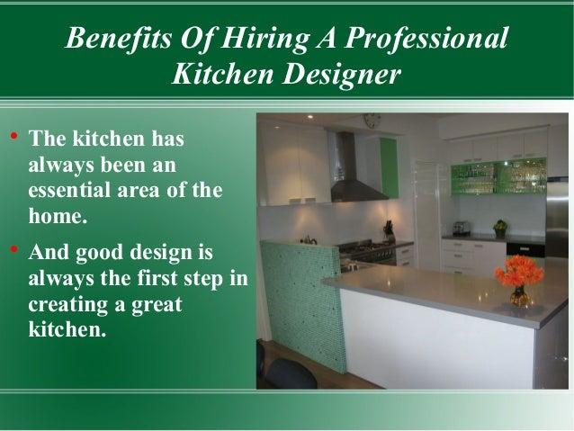 Hiring a kitchen designer