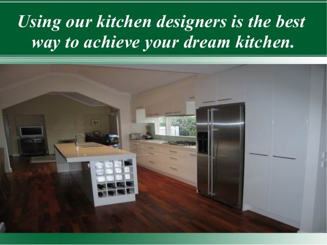7. Using Our Kitchen Designers ...