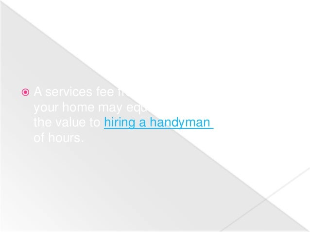 Benefits of Hiring Handyman Services