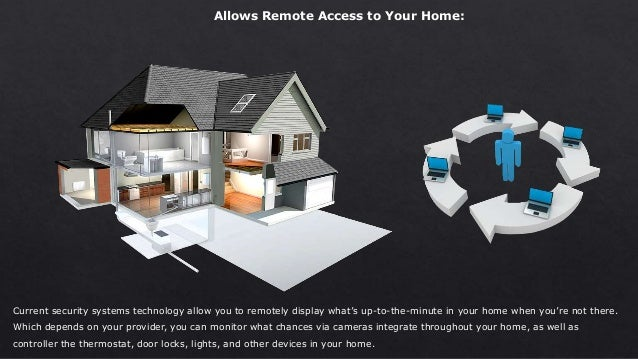 Current security systems technology allow you to remotely display what's up-to-the-minute in your home when you're not the...