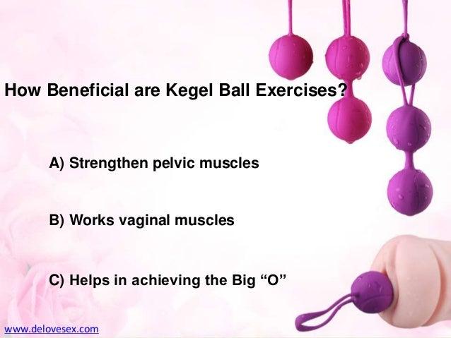 How do pleasure balls work