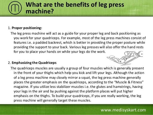 leg press machine benefits