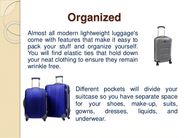Benefits Of Lightweight Travel Luggage