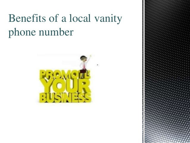 Benefits of a local vanity phone number