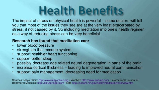 a review of the health benefits of stress The second section includes studies outlining the more social benefits of recreation for communities, social bonds and youth this compilation of the documented health and social benefits of recreation is a product of the continuing.