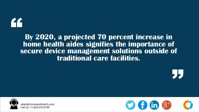 Importance of Enterprise Mobility Solution in Healthcare Slide 2