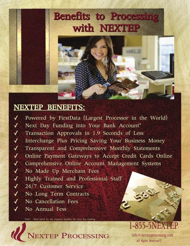 Benefits of NEXTEP Flyer