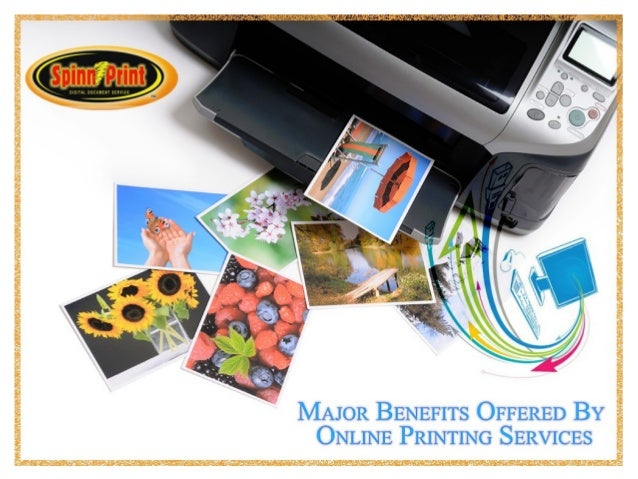 Benefits of online printing services