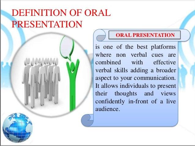 verbal vs oral communication