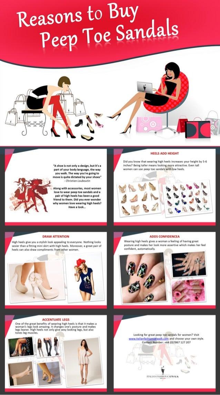 Benefits of Peep Toe Sandals for Women