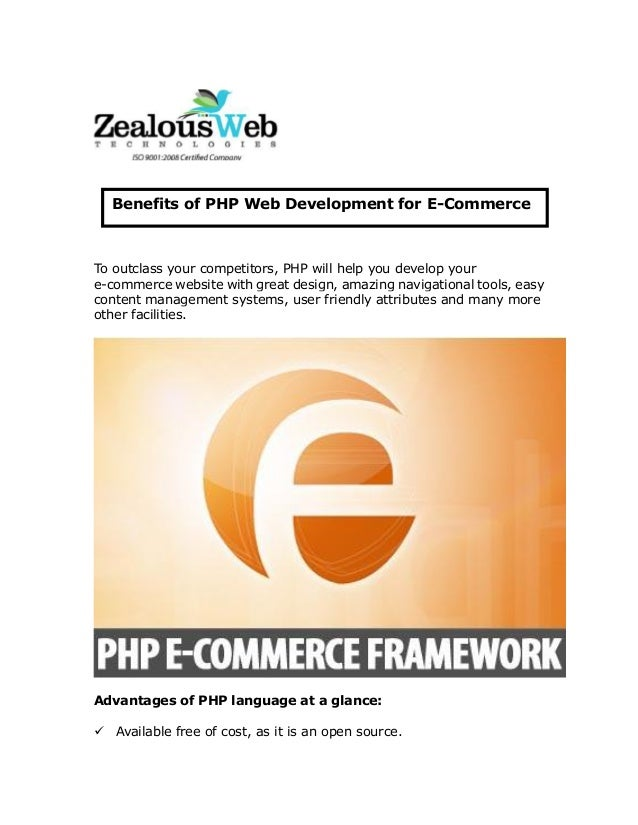 To outclass your competitors, PHP will help you develop your e-commerce website with great design, amazing navigational to...
