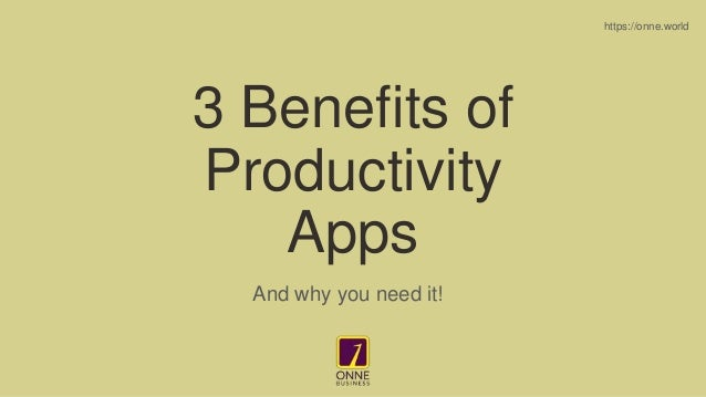 benefits of productivity apps 1 638