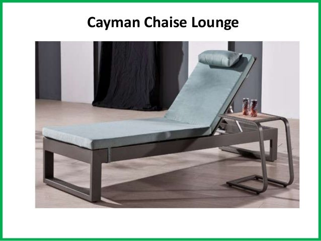 Cayman Chaise Lounge ... Part 95