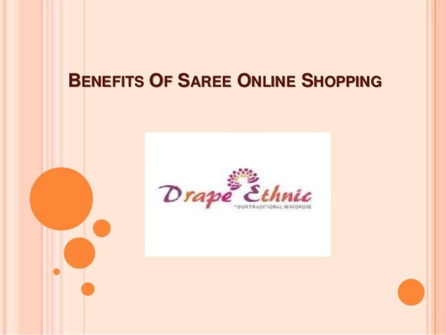 BENEFITS OF SAREE ONLINE SHOPPING