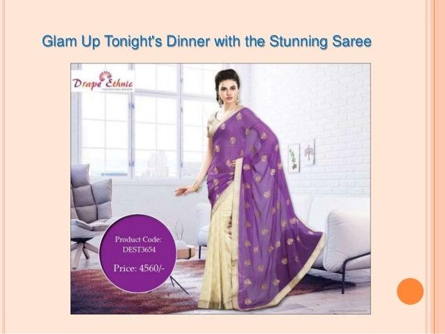 Benefits of saree online shopping Slide 2