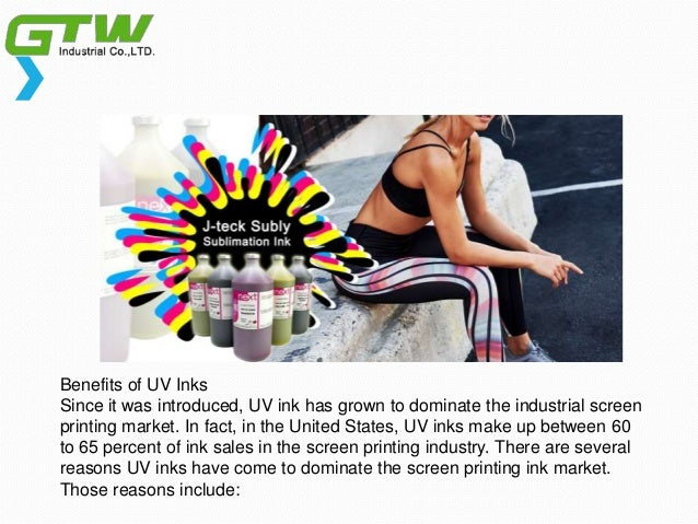 Benefits of sublistar uv ink and how dose Slide 3