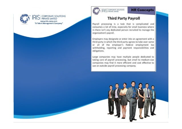 Iris Corp What Are The Benefits Of Third Party Payroll