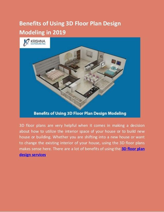 Benefits Of Using 3d Floor Plan Design Modeling In 2019