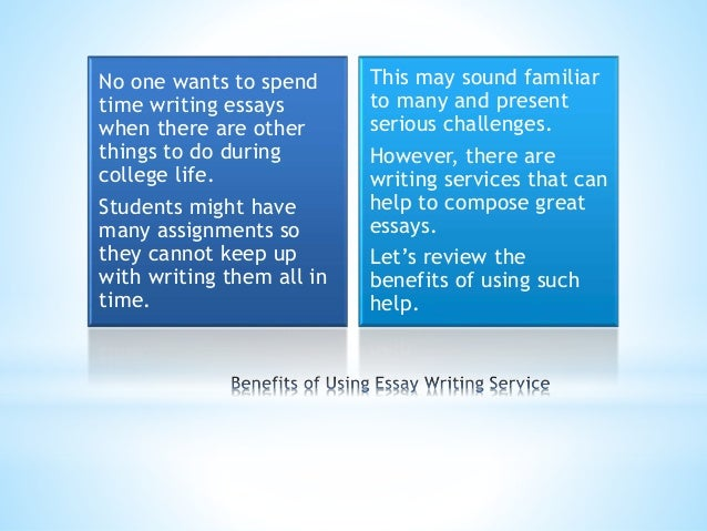 Benefit of national service essay