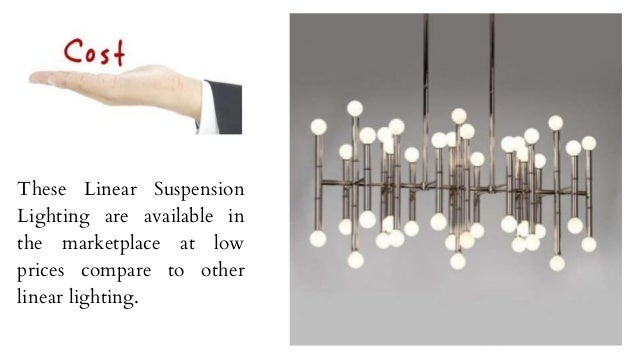 Benefits of Using Linear Suspension Lighting