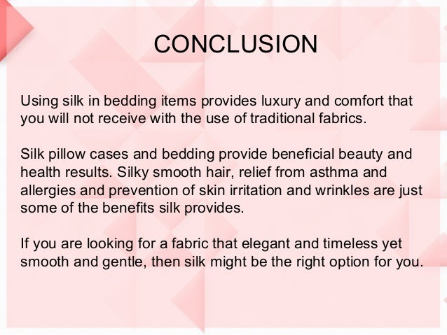 Benefits Of Using Silk In Your Home