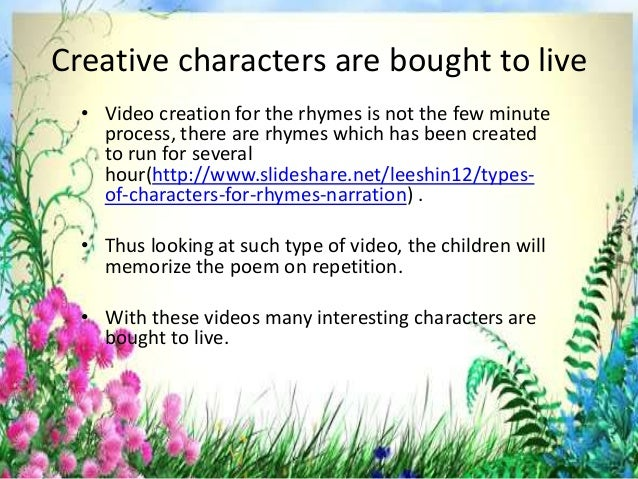 Filmy effect is obtained • Since the videos are framed with the audio and video with the characters being uttered with the...