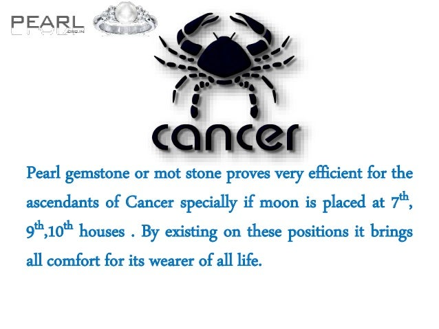 benefits of wearing pearl gemstone for each zodiac sign