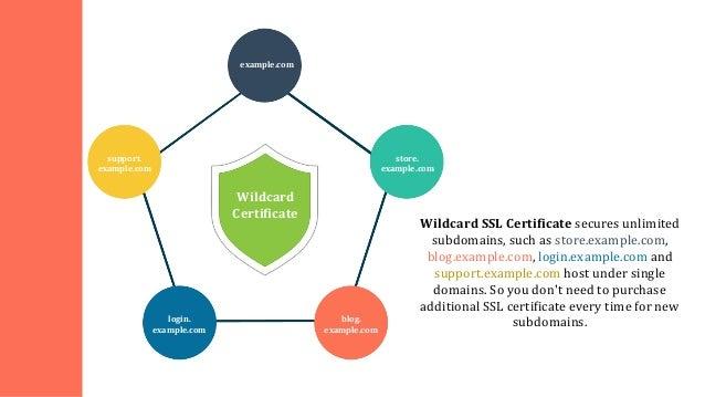 Benefits of Wildcard SSL Certificates