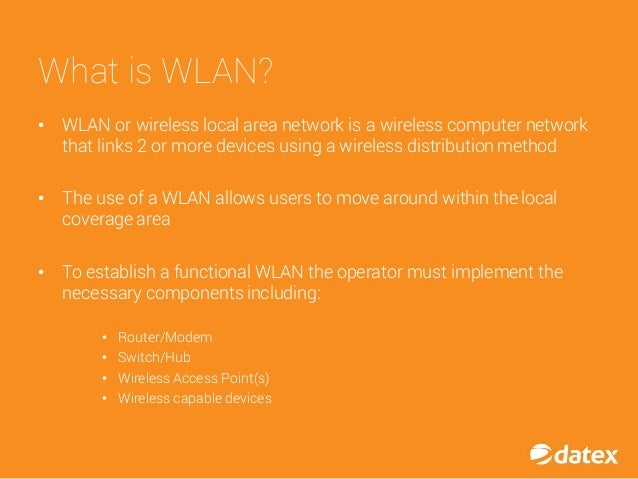 Benefits of WLAN Implementation in the Warehouse