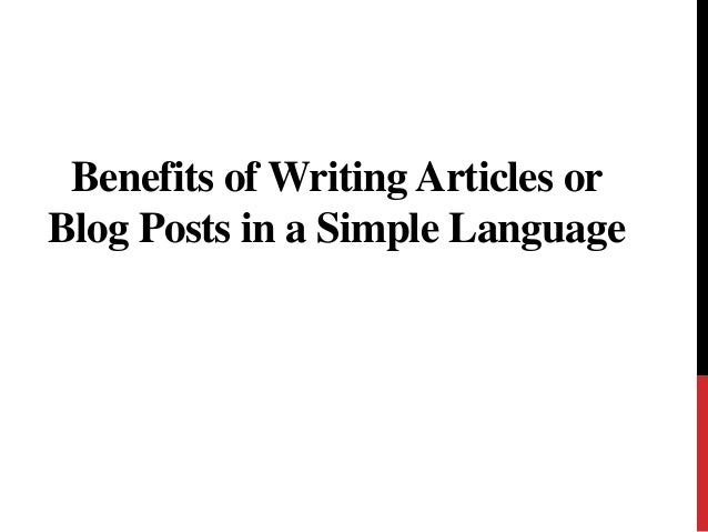 Writing an Article vs. Writing a Blog Post: What's the Difference?