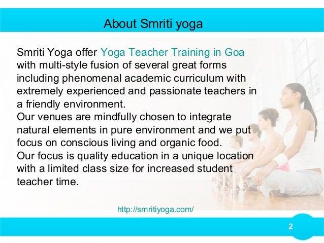 Benefits Of Yoga Teacher Training In Goa
