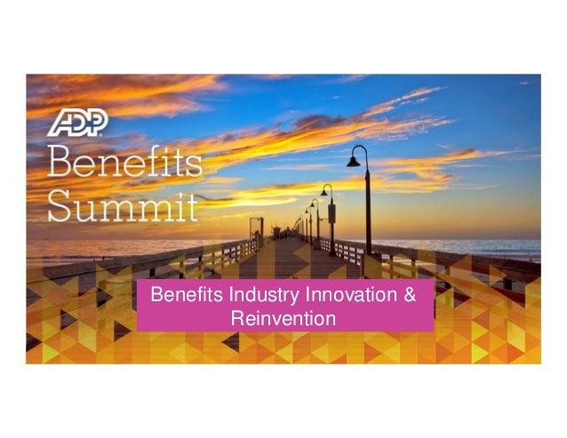 Benefits Industry Innovation & Reinvention  Speak with our Experts – Matt Considine (GoHealth), Brad Mandacina (Lockton), ...
