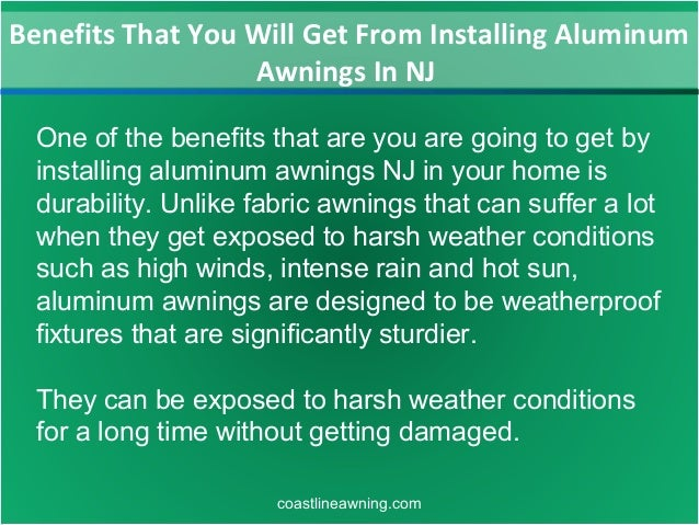 Benefits That You Will Get From Installing Aluminum