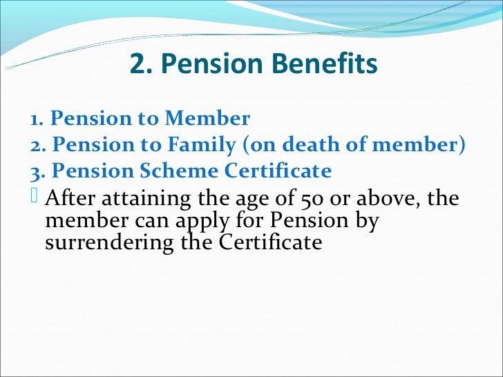 Benefits Epf Scheme