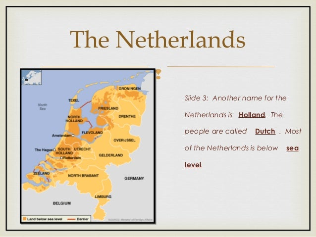Benelux countries Slide 3