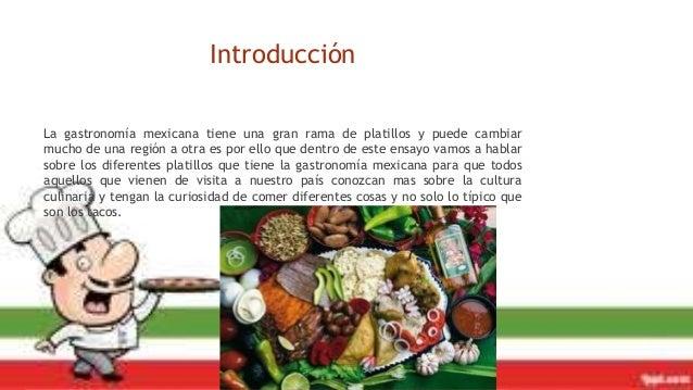 La gastronom a y su impacto en el turismo for Introduccion a la gastronomia pdf