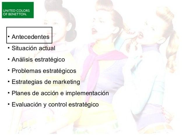 Benetton:nueva estrategia de Marketing Slide 2