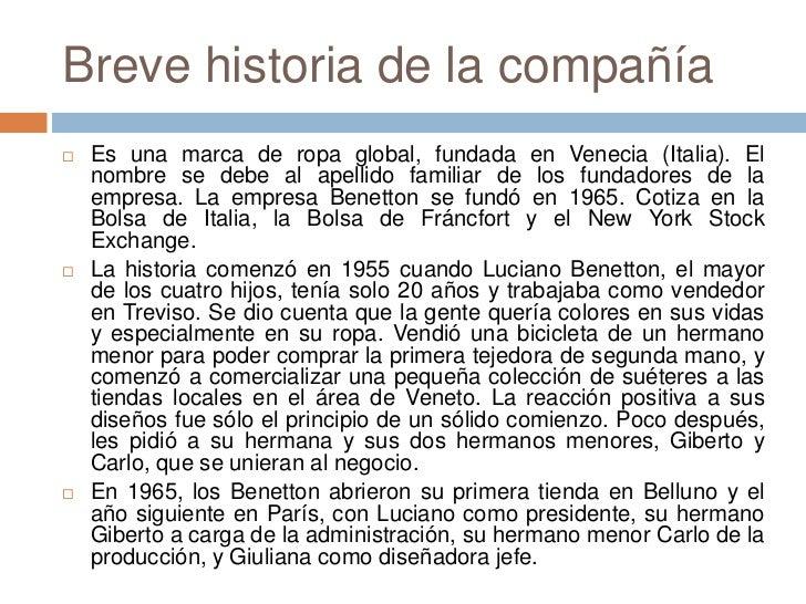 CAMPAÑAS DE BENETTON Slide 2