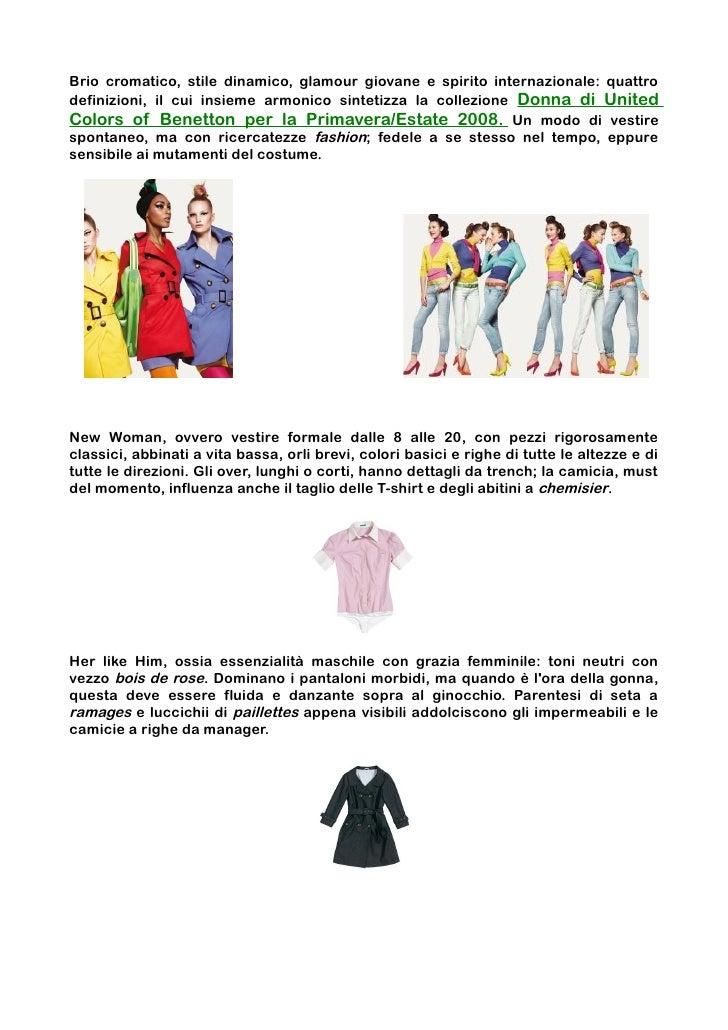 Benetton - Piano di Marketing d741ca4c90fa