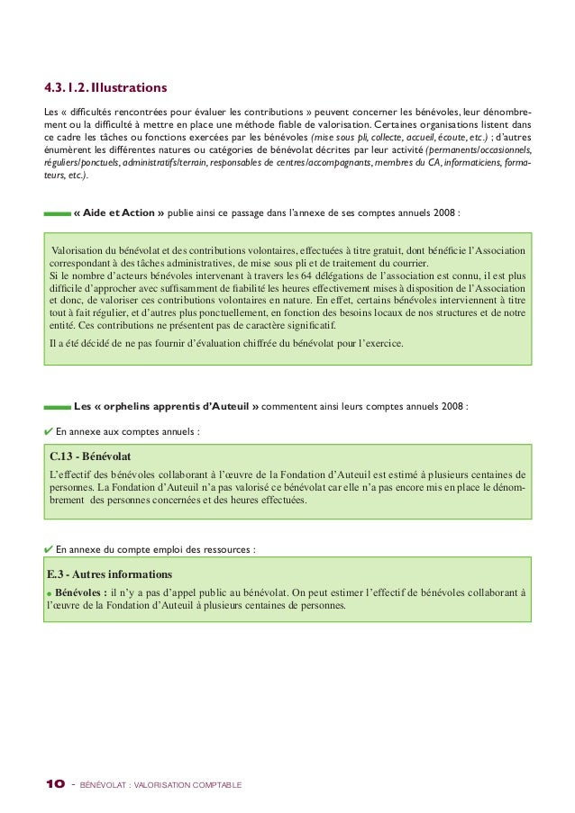 4.3.1.2. Illustrations  Les « difficultés rencontrées pour évaluer les contributions » peuvent concerner les bénévoles, le...