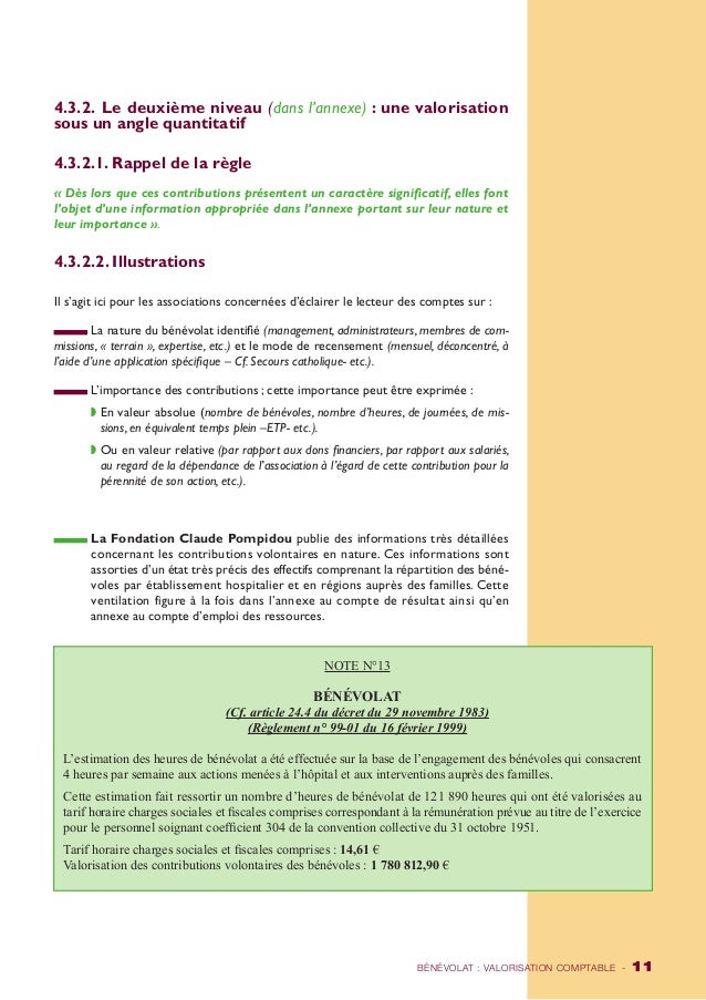 4.3.2. Le deuxième niveau (dans l'annexe) : une valorisation  sous un angle quantitatif  4.3.2.1. Rappel de la règle  « Dè...