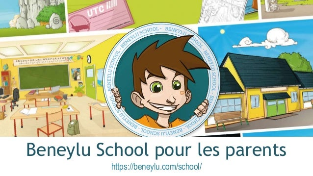 Beneylu School pour les parents https://beneylu.com/school/