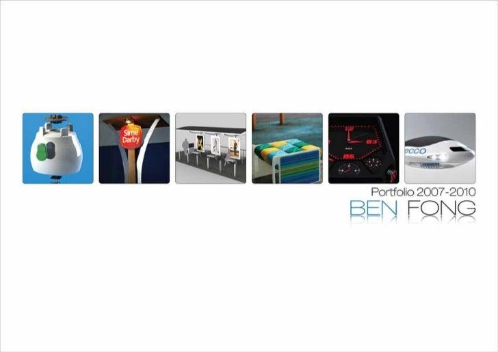 Ben Fong Portfolio 2007 - 2010